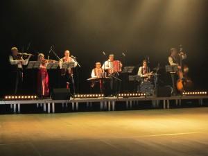 Перше відділення концерту у м. Lesguin